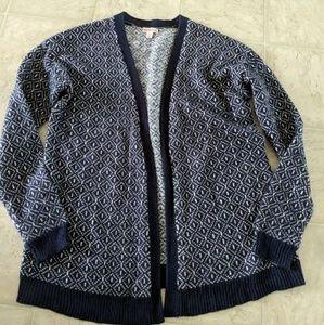 Chunky Oversize Merona Sweater Cardigan